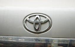 Toyota-Zeichen Lizenzfreie Stockfotografie