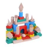 toys деревянное Стоковая Фотография