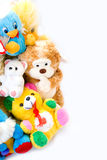 Toys. Pile of toys with copy space Royalty Free Stock Image