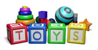 toys Royaltyfri Fotografi