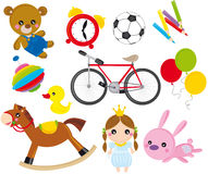 Toys vector illustration