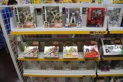 Toys at Akihabara Tokyo, Japan. This photo was taken in Akihabara (Tokyo), Japan in August 2014 with a Canon 6D Royalty Free Stock Image