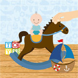 Toys baby Royalty Free Stock Photography