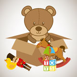 Toys baby Stock Images