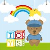 Toys baby Stock Photos