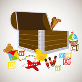 Toys baby Royalty Free Stock Images