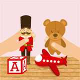Toys baby Royalty Free Stock Image