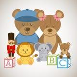 Toys baby Stock Photo