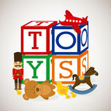 Toys baby Stock Photography