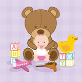 Toys baby Stock Image