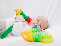 Toys for the baby Stock Photography