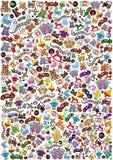 Toys background highsize Stock Photos