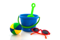 Toys for the beach Royalty Free Stock Images
