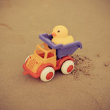 Toys On The Beach Royalty Free Stock Photography