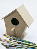 Toys birdhouse Stock Photos