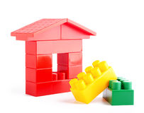 Toys blocks. Royalty Free Stock Images