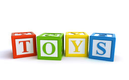 Toys blocks Stock Photo