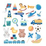Toys for boys. Royalty Free Stock Photography