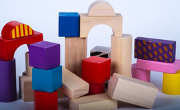 Toys buildingblocks Royalty Free Stock Images
