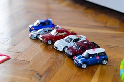 Toys cars Royalty Free Stock Photo