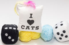 Toys cat Stock Photography