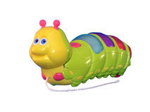 Toys caterpillar Stock Photography