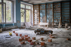 Toys of Chernobyl Royalty Free Stock Images