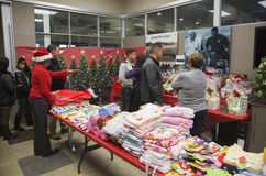 Toys for children at Christmas dinner for US Soldiers at Wounded Warrior Center, Camp Pendleton, North of San Diego, California, U Stock Images