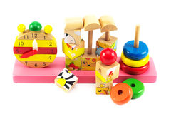 Toys for children,Jigsaw, geometry. Children toy, Brain development, Skills Preschool Royalty Free Stock Images