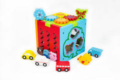 Toys for children. Children toy, Training for Development Stock Photos