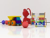 Toys for Christmas Royalty Free Stock Photography