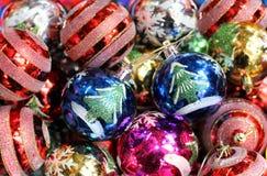 Toys for the Christmas tree Stock Photos