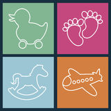 Toys design Royalty Free Stock Photo