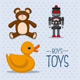 Toys design Stock Images
