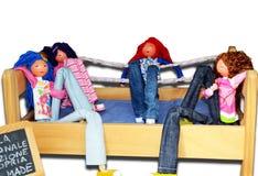 Toys dolls Stock Photos