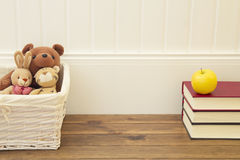 Toys and education Stock Images
