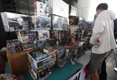 Toys exhibition Stock Photo