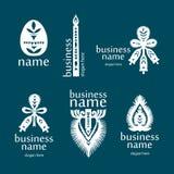 Nya symboler från pappers- Arkivbilder
