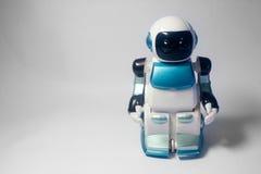 Toys för Moonfotgängarerobot Arkivfoton