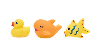 Toys For A Bathroom Royalty Free Stock Image