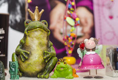 Toys, frogs Stock Images