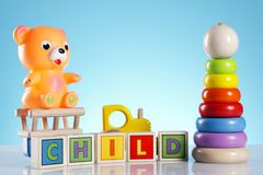 Toys! Fun and more! Royalty Free Stock Photo