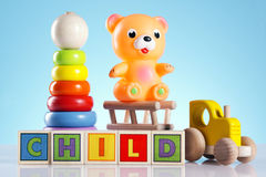 Toys! Fun and more! Royalty Free Stock Images