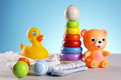 Toys! Fun and more! stock photo