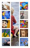 Toys and games Royalty Free Stock Images