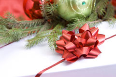 Toys and gift for Christmas and New Year Royalty Free Stock Photography