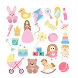 Toys for girls. Stock Images