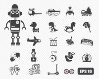 Toys icon Royalty Free Stock Photos