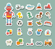 Toys icon. Illustration of toys icon vector Royalty Free Stock Photo