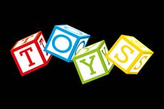 Toys icons Royalty Free Stock Images